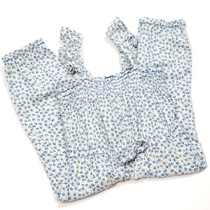Baby Gap Girls Floral Jumpsuit 18M Used View 2