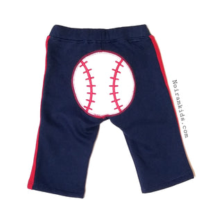 Gymboree Baseball Sweatpants Boys 6-12M NWT View 2