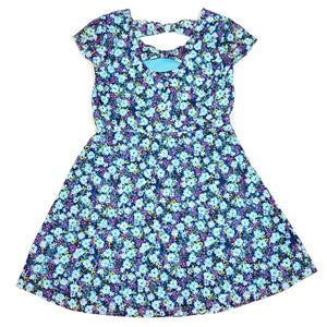 Route 66 Girls Blue Floral Dress Size 6 Used View 2