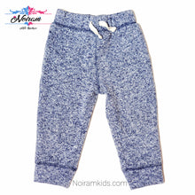 Load image into Gallery viewer, Childrens Place Blue White Boys Sweatpants Used View 1