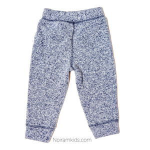 Childrens Place Blue White Boys Sweatpants Used View 2