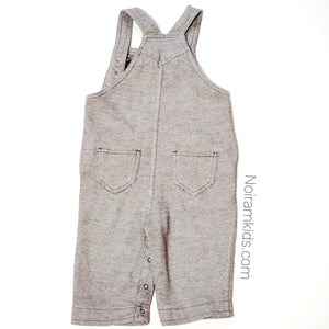 Old Navy Brown Herringbone Boys Overalls 6M Used View 3