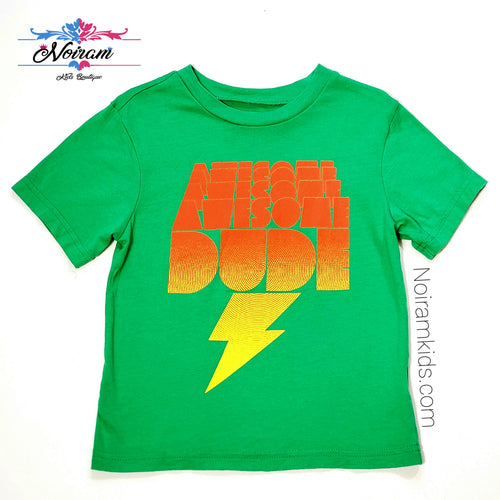 Childrens Place Boys Awesome Dude Shirt Used View 1