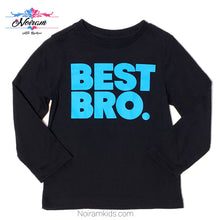 Load image into Gallery viewer, Childrens Boys Place Best Bro Tee 2T Used View 1