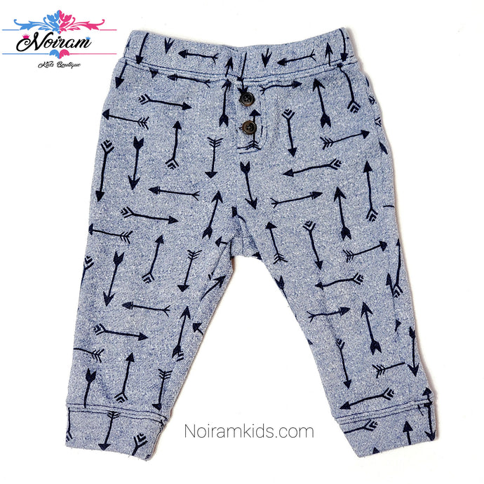 Gymboree Boys Arrow Print Sweatpants Used View 1