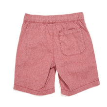 Load image into Gallery viewer, Old Navy Boys Red Chambray Shorts Size 6 Used View 2
