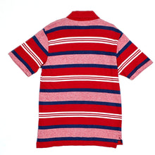 Load image into Gallery viewer, Childrens Place Boys Red Striped Polo Shirt Medium Used View 2