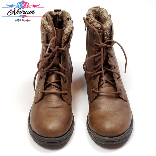Brown Wonder Nation Girls Boots Size 4 Used View 1