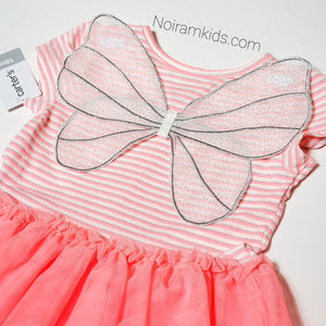 NWT Carters Butterfly Tutu Pink 18M View 2