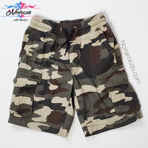 Crazy 8 Boys Camo Cargo Shorts 4T Used