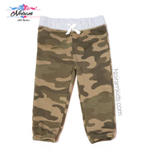 Load image into Gallery viewer, Carters Baby Boy Camo Pants Used View 1