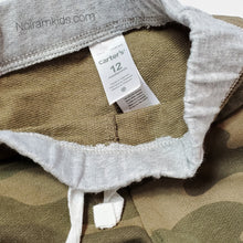 Load image into Gallery viewer, Carters Baby Boy Camo Pants Used View 3