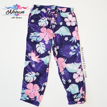 Load image into Gallery viewer, NWT Carters Girl Floral Jogger Pants 2T