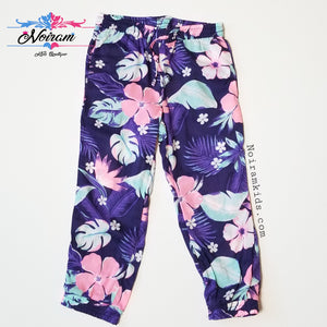NWT Carters Girl Floral Jogger Pants 2T
