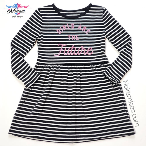 NWT Carters Girls Are the Future Dress 3T View 1