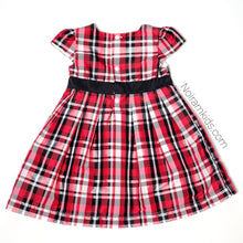 Load image into Gallery viewer, Carters Baby Girls Plaid Special Occasion Dress Used View 2
