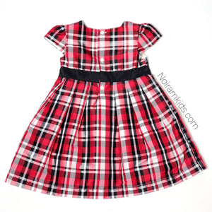 Carters Baby Girls Plaid Special Occasion Dress Used View 2