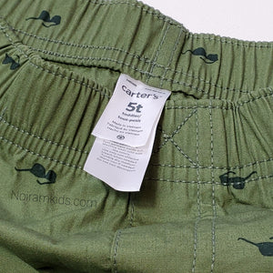 Carters Boys Sunglass Print Shorts 5T Used View 3