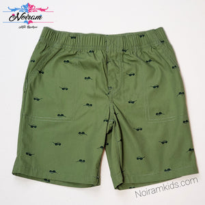 Carters Boys Sunglass Print Shorts 5T Used