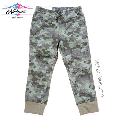 NWT Cat Jack Camo Boys Jogger Pants 3T View 1