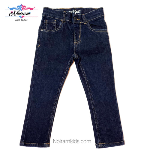 Cat Jack Dark Wash Girls Skinny Jeans 3T Used View 1