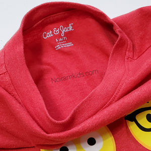 Cat Jack Emoji Shirt Red Small Used View 2