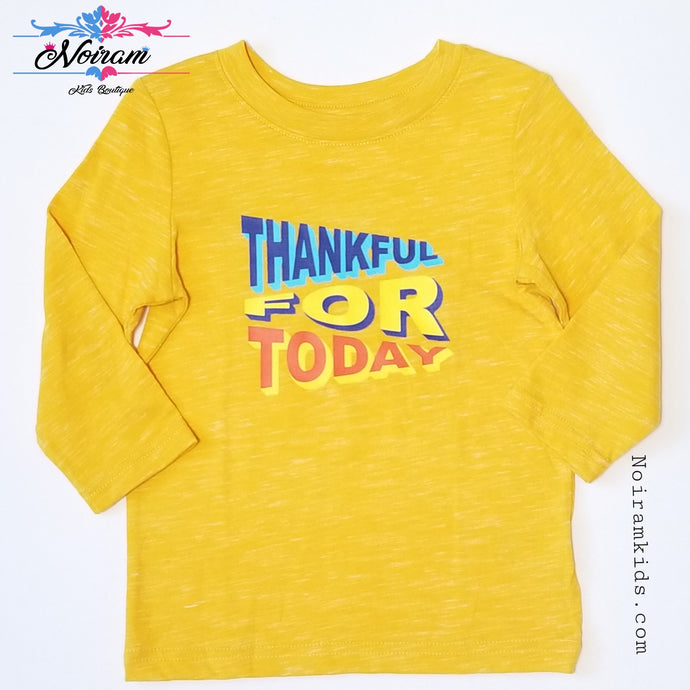 Cat Jack Thankful for the Day Shirt 2T NWOT