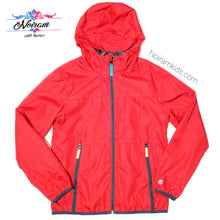 Load image into Gallery viewer, Champion Red Lightweight Boys Jacket Used View 1