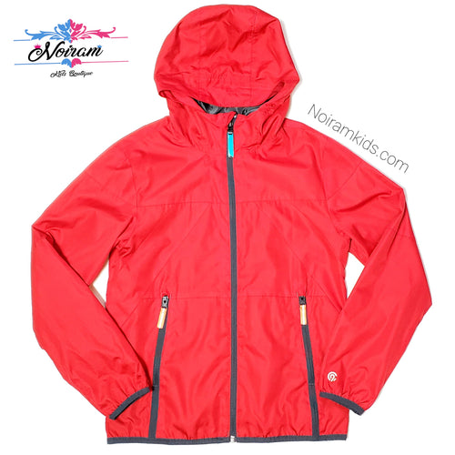 Champion Red Lightweight Boys Jacket Used View 1