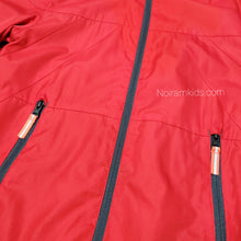 Load image into Gallery viewer, Champion Red Lightweight Boys Jacket Used View 2
