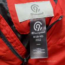 Load image into Gallery viewer, Champion Red Lightweight Boys Jacket Used View 4