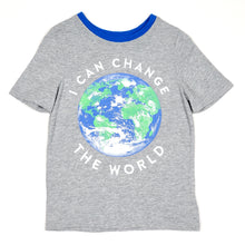 Load image into Gallery viewer, Old Navy Boys Change The World Tee 5T Used View 1