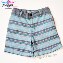 Load image into Gallery viewer, Cherokee Boys Striped Cuffed Shorts 4T Used