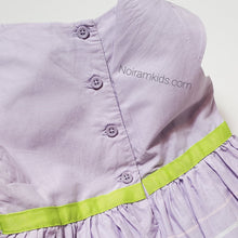 Load image into Gallery viewer, Cherokee Girls Purple Dress 18M Used View 5