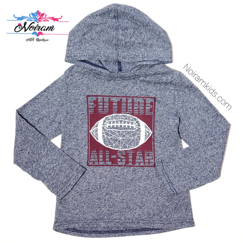 Childrens Place Football Hooded Boys Shirt 4T Used View 1