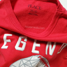 Load image into Gallery viewer, Childrens Place Red Baseball Boys Shirt Used View 3