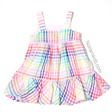 Load image into Gallery viewer, Baby Gap Colorful Plaid Girls Dress Used View 3