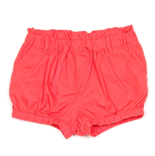 Baby Gap Coral Girls Bubble Shorts Size 5 Used View 1