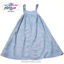 Load image into Gallery viewer, Old Navy Patterned Chambray Girls Dress 3T Used View 1