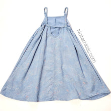 Load image into Gallery viewer, Old Navy Patterned Chambray Girls Dress 3T Used View 3