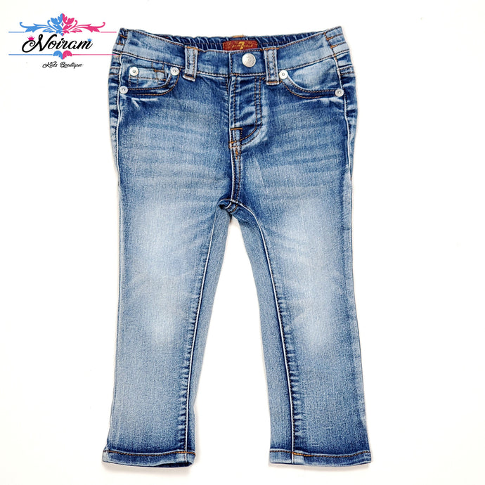 7 For All Mankind Boys Jeans 18M Used View 1