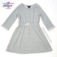 Load image into Gallery viewer, Gap Girls Grey Sweater Dress Used View 1