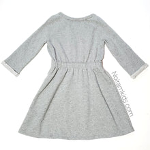 Load image into Gallery viewer, Gap Girls Grey Sweater Dress Used View 2