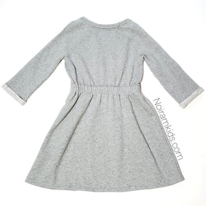 Gap Girls Grey Sweater Dress Used View 2