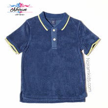 Load image into Gallery viewer, Baby Gap Boys Terry Cloth Polo Shirt 4T Used View 1