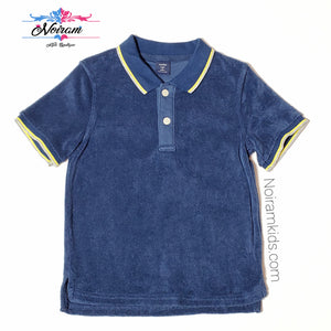 Baby Gap Boys Terry Cloth Polo Shirt 4T Used View 1