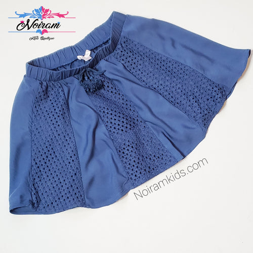 Xhilaration Girls Blue Boho Skirt Large Used