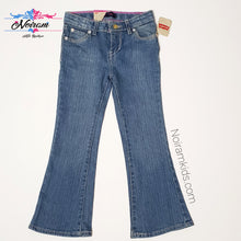 Load image into Gallery viewer, Levis Glitter Flare Girls Jeans Size 5R NWT View 1