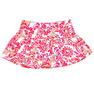 Childrens Place Girls Skort 2T Pink Floral Print Used View 1