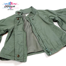 Load image into Gallery viewer, Crazy 8 Olive Green Girls Jacket 12M Used View 3